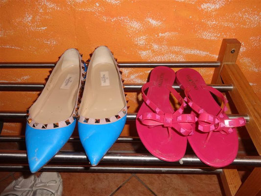 Chia Chi Ting Hiking Shoes !!!