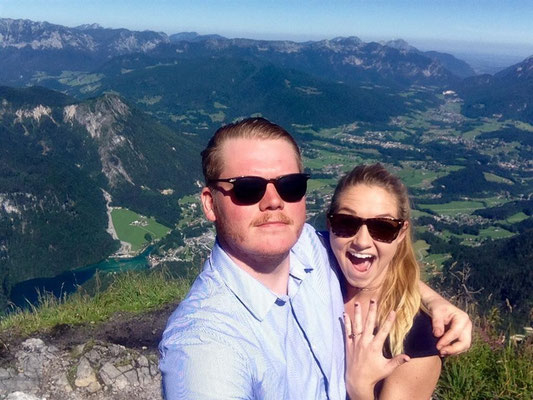 Charles from Jacksonville / USA propose marrige to Kelsea on Jenner mountain !