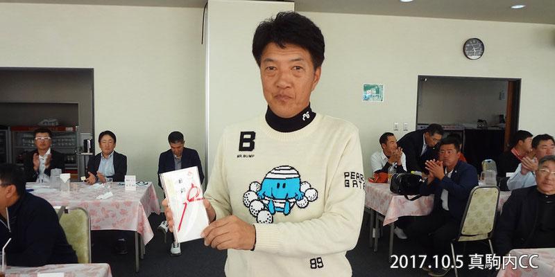 男子優秀選手 小林敏明