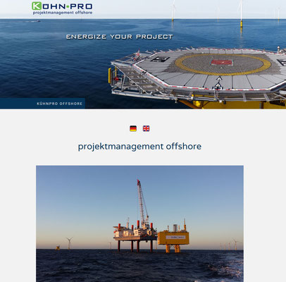 Projektmanagement offshore Ralph Kühn