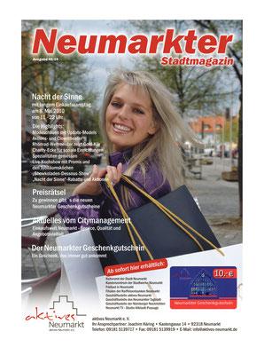 Layout Neumarkter Stadtmagazin