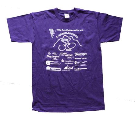 T-Shirt Druck Radtour