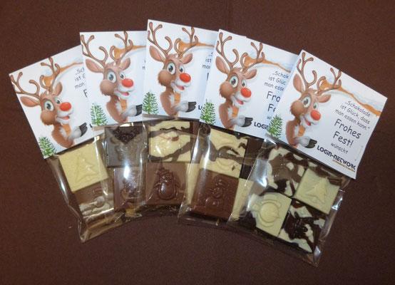 Süßes Quartett mit individueller Verpackung