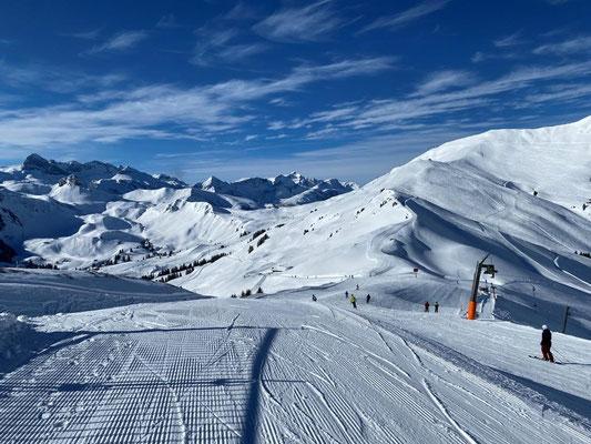 super Schnee-und Wetterbedingungen - Skitag Hosner Holzbau GmbH Röthenbach
