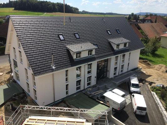 Neubau Mehrfamilienhaus in Etziken - Hosner Holzbau GmbH Röthenbach