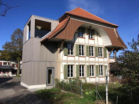 Umbau Altes Schulhaus in Bollodingen - Hosner Holzbau GmbH Röthenbach