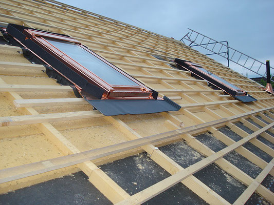 Dachfenster / Lukarne in Bolken - Hosner Holzbau Gmbh Röthenbach