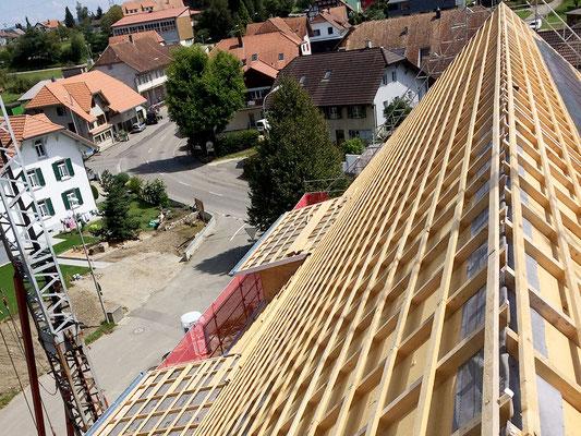 Neubau MFH in Etziken - Hosner Holzbau Gmbh Röthenbach