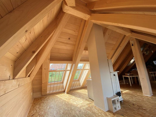 Einbau Dachfenster in Steinhof - Hosner Holzbau GmbH Röthenbach