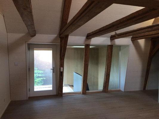 Umbau mit Einbezug Denkmalpflege in Bollodingen - Hosner Holzbau GmbH Röthenbach
