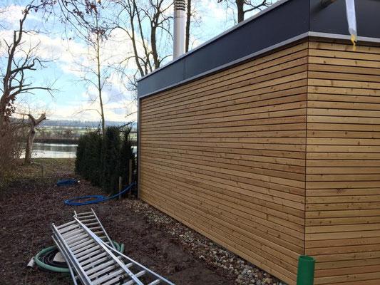 Neubau Sauna in Altreu - Hosner Holzbau GmbH Röthenbach