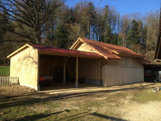 Umbau / Sanierung in Graben - Hosner Holzbau GmbH Röthenbach