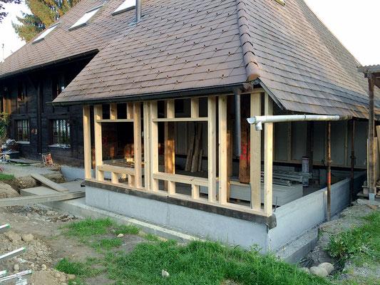 Umbau / Sanierung in Niederönz - Hosner Holzbau GmbH Röthenbach
