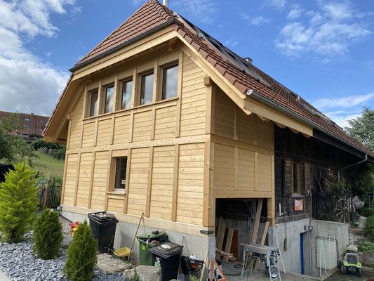 Wohnhauserweiterung in Steinhof - Hosner Holzbau GmbH Röthenbach