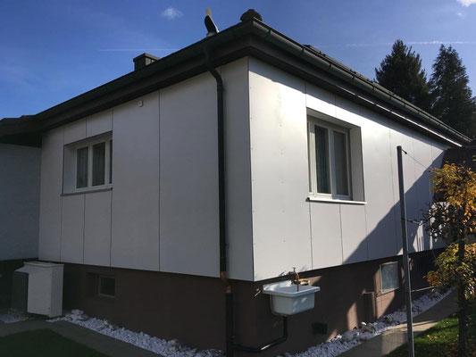 Fassadensanierung in Wangenried - Hosner Holzbau GmbH Röthenbach