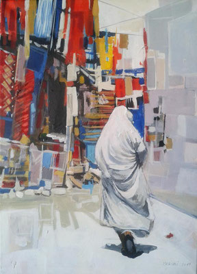 OTMANE MERSALI, femme en Algérie