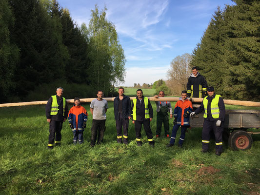 Das Maibaum-Hol-Team 2017