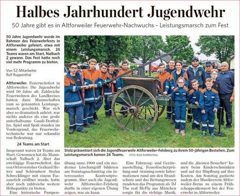 Saarbrücker Zeitung vom 5. Juli 2016
