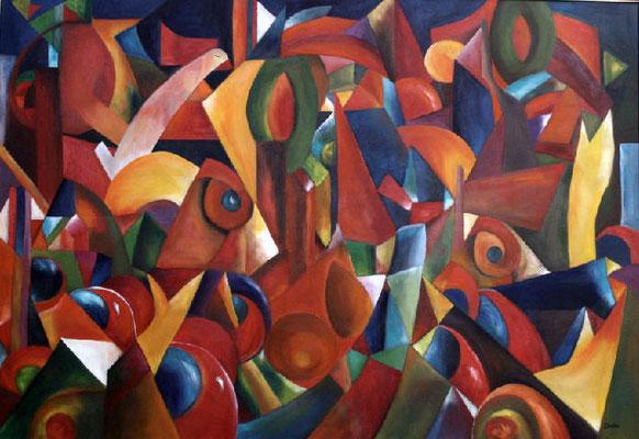 Il secreto, 2009, 70x100, Leinwand,   verkauft