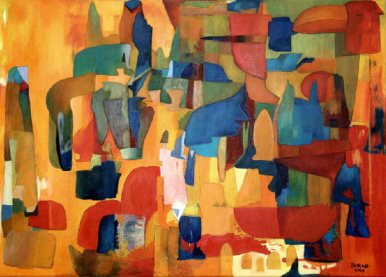 Sahara, 2007, 50x70, Leinwand