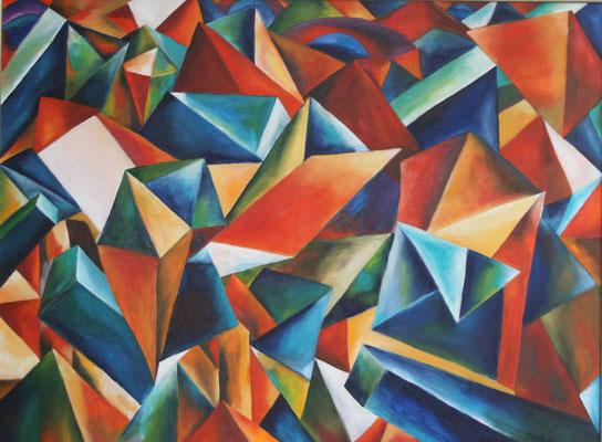The Letter, 2011, 60x80, Leinwand