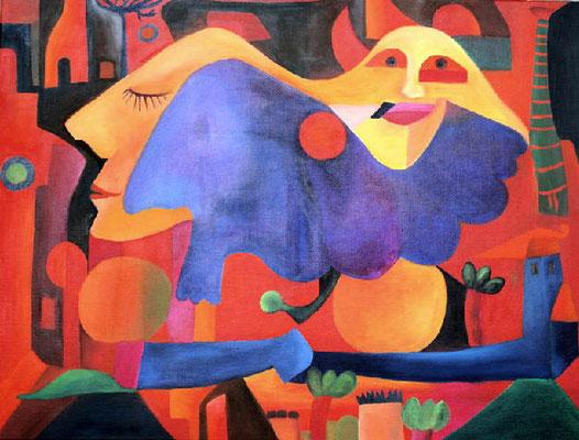 Il dormato, 2008, 60x80, Leinwand   verkauft