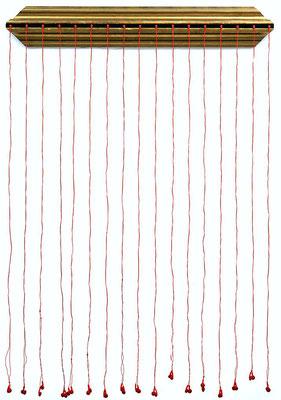 À GAUCHE, À DROITE..., 111 x 163 x 7,5 cm