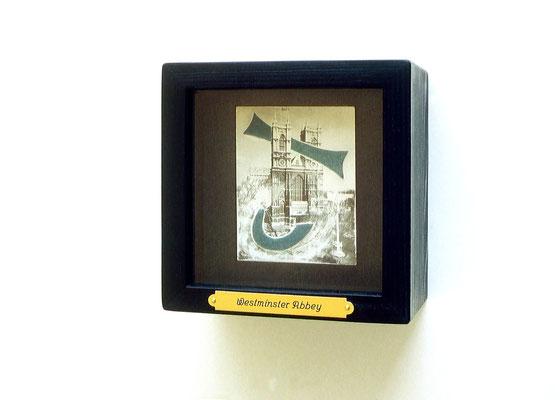 WESTMINSTER ABBEY, 13,5 x 13,5 x 9 cm