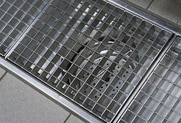 Kastenrinne für den Hygienebereich