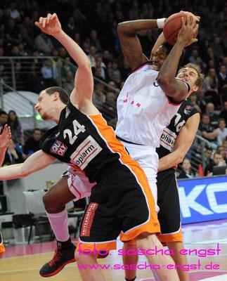 Kurt Looby Telekom Baskets Bonn Januar 2014