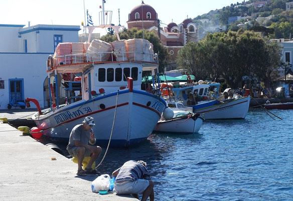 Leros, Agia Marina