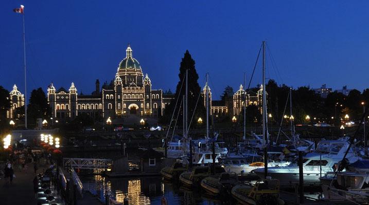 Parliament Buildings  am Inner Harbour