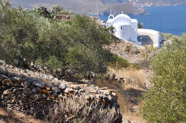 Milos - unterhalb Plaka