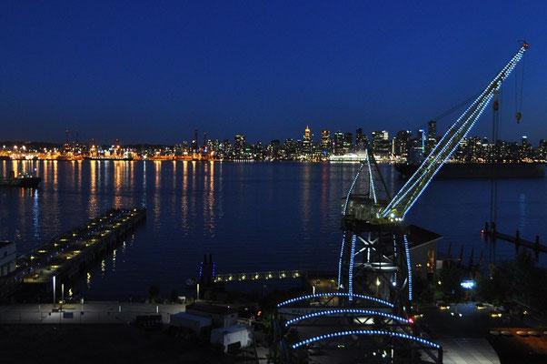 North-Vancouver, vom Hotelzimmer aus