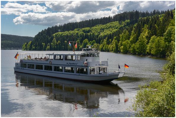 Die MS AquaMarin auf dem Okerstausee (Deutschland/Germany) - 07.03.2013