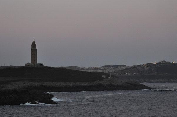 La Coruña (Spanien), ältester Leuchtturm Europas