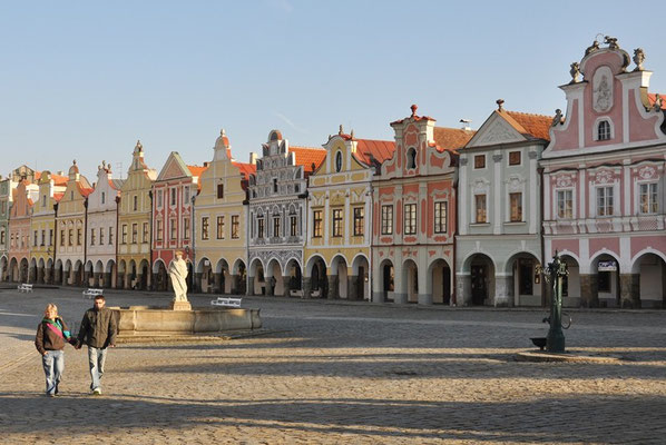 Telc - Stadtplatz