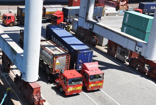 Löschung direkt auf Lastwagen oder Lagerung, Superlogistik