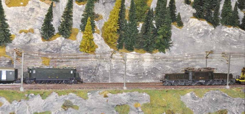 Modelleisenbahn Bahnhof Balsthal
