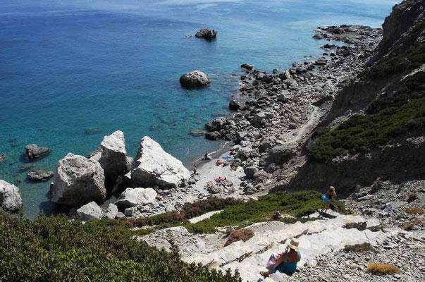 Milos - eine der vielen romantischen Badebuchten