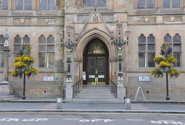 Aberdeen Rathaus (Hauptstadt der Highlands)