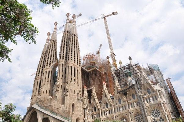 Sagrada Familia von Antoni Gaudi