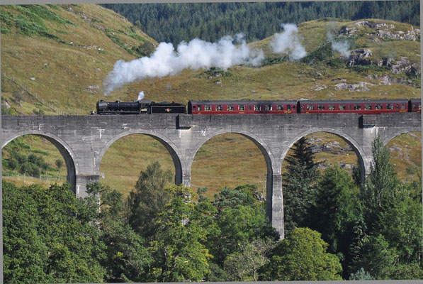 """The Jacobite - Glenfinnan-Viadukt """"The Jacobite"""" (Harry Potter-Filme)"""