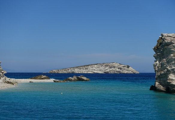 Leros, mit Badeschiff