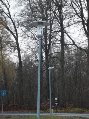 Straßenbeleuchtung an der Grevesmühlener Straße / Alte Dorfstraße