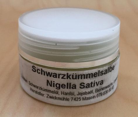 #inspiriencer Schwarzkümmel Salbenglück