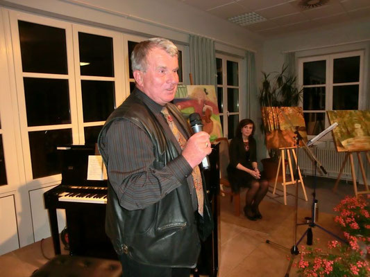 Erstes eigenes Konzert mit Peter Michaelis