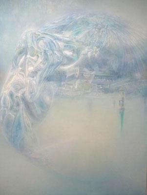 """""""eine lichte Stelle in der Erinnerung""""<br>oil, canvas160x120cm<br>private collection"""