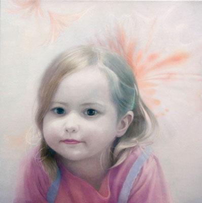 """""""der Anfang des Gedächtnisses""""<br>oil, canvas59x59cm<br>private collection"""