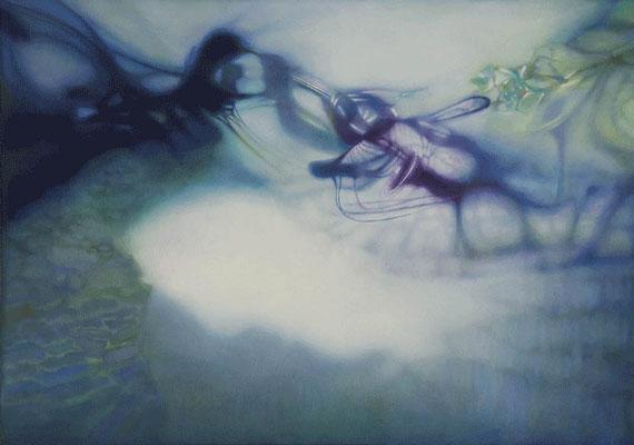 """""""Zirkulieren""""<br>oil, canvas46x65cm<br>private collection"""
